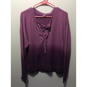 Women's Mudd Long Sleeve Shirt